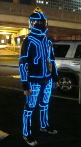 Tron LED Costume