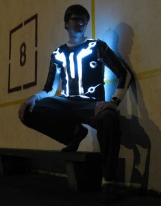 Tron Light Up Costume