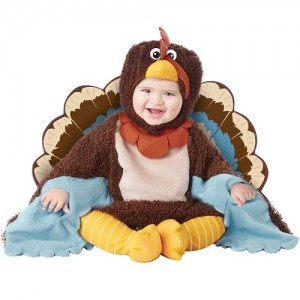Turkey Baby Costume