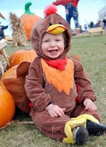 Turkey Costume Baby