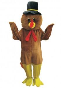 Turkey Mascot Costume
