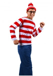 Waldo Costume Men