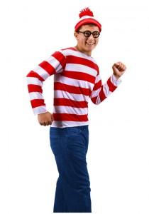 Waldo Costume Men
