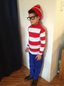 Waldo Costume for Kids