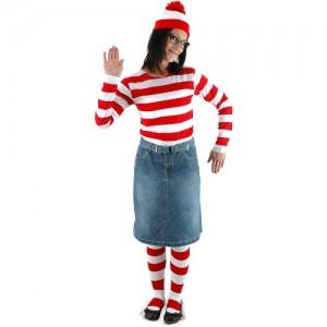 Waldo Girl Costume