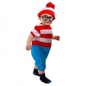 Waldo Toddler Costume