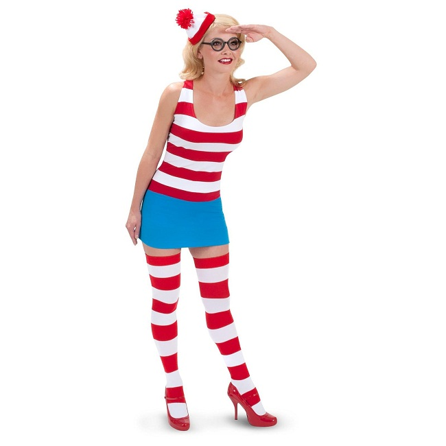 Waldo Costumes For Men Women Kids Parties Costume