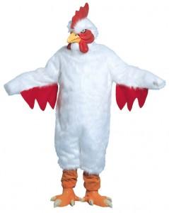 White Chicken Costume