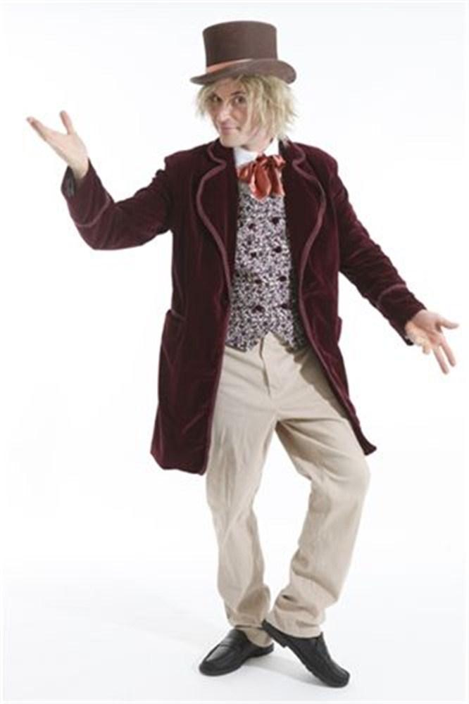 Willy Wonka Costumes (for Men Women Kids) | Parties Costume