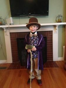Willy Wonka Costume Kids