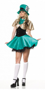 Willy Wonka Girl Costume