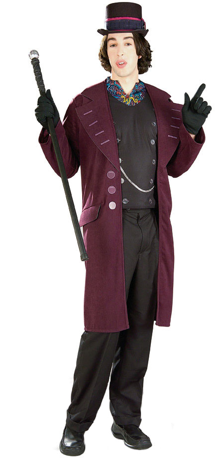 Willy Wonka Costumes (for Men, Women, Kids) | Parties Costume