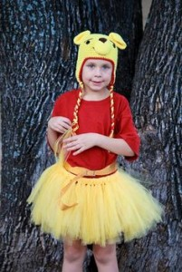 Winnie the Pooh Costume with Tutu