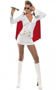 Woman Elvis Costume