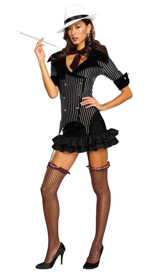Gangster Costumes (for Men Women Kids) | Parties Costume