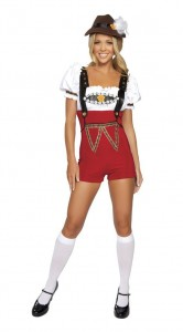 Womens Lederhosen Costume