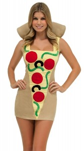 Womens Pizza Costume