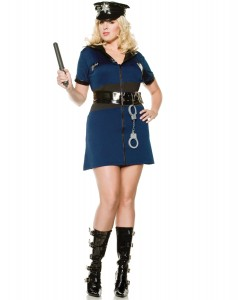 Womens Police Officer Costume