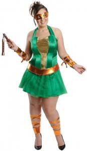 Womens TMNT Costume