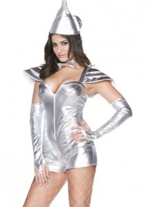 Womens Tin Man Costume