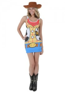 Woody Costume Womens