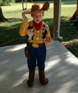 Woody Halloween Costume