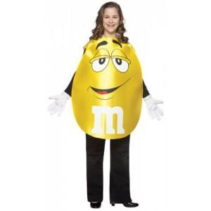 Yellow M&M Costume