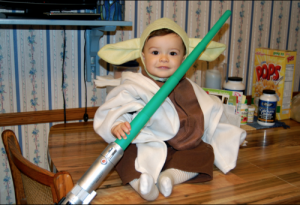 Yoda Costume Baby