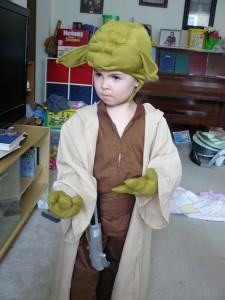 Yoda Costume Kids