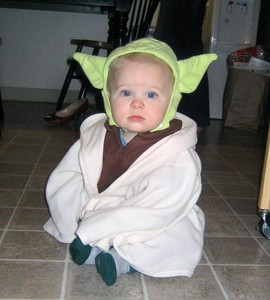 Yoda Infant Costume