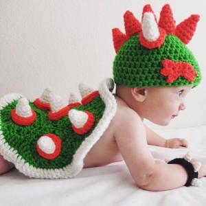 Yoshi Baby Costume