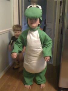 Yoshi Costume Kids