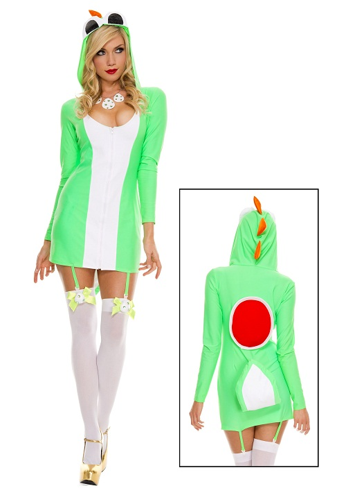 Yoshi Halloween Costume Diy.Yoshi Costumes For Men Women Kids Partiescostume Com