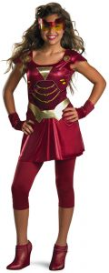 Girl Iron Man Costume
