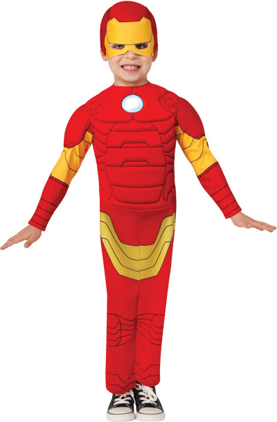 Iron Man muscle costumes | Iron Man kid costumes | Iron Man movie costumes Many of the greatest comic book superheroes ever known have come out of Marvel Comics, Iron Man being one of them. First appearing in comic books in , eventually the Iron Man saga was made into a feature film in